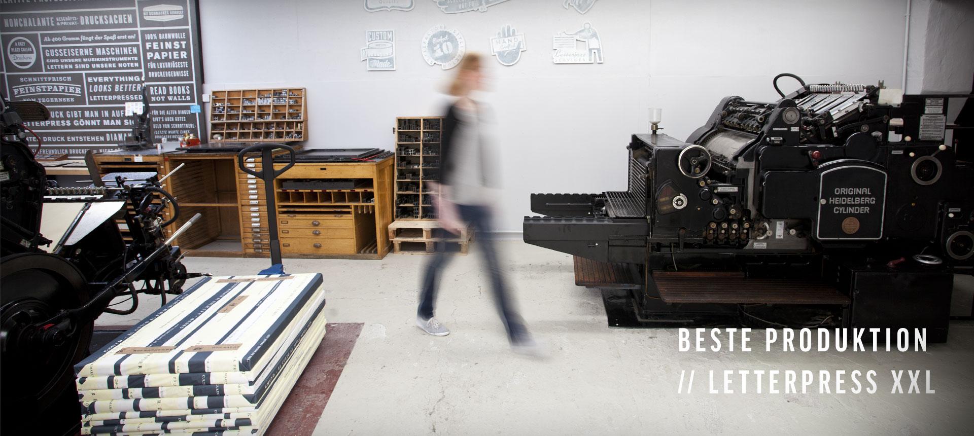 Beste Produktion // Letterpress XXL