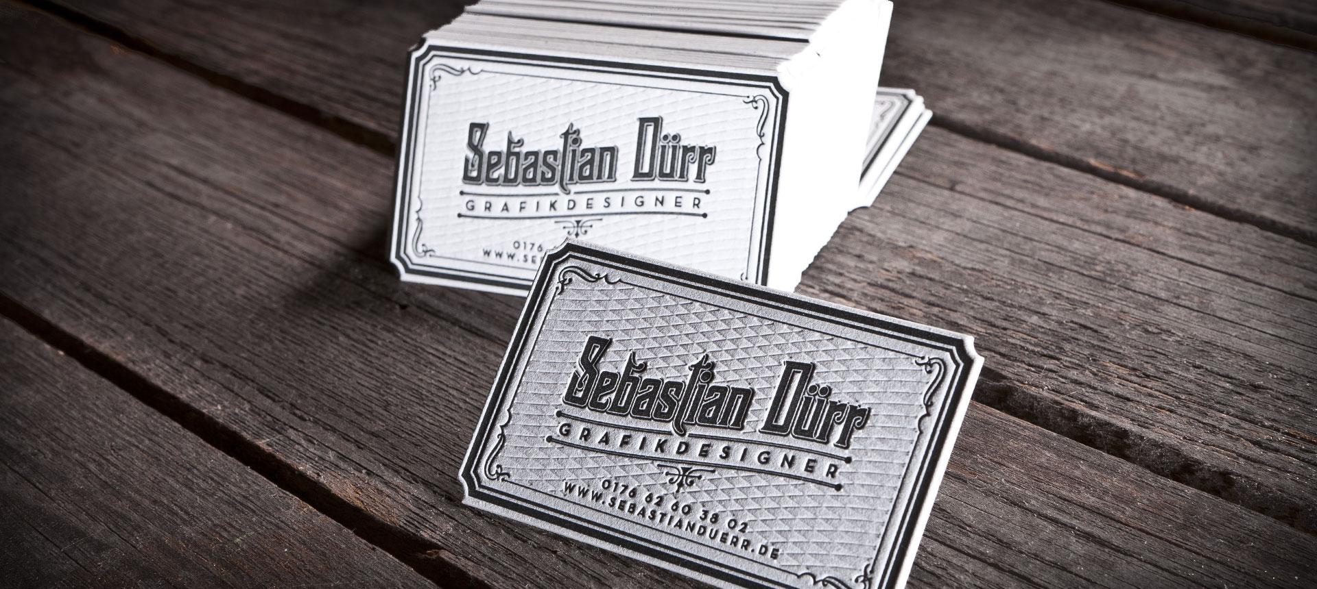 Letterpress: Sebastian Duerr