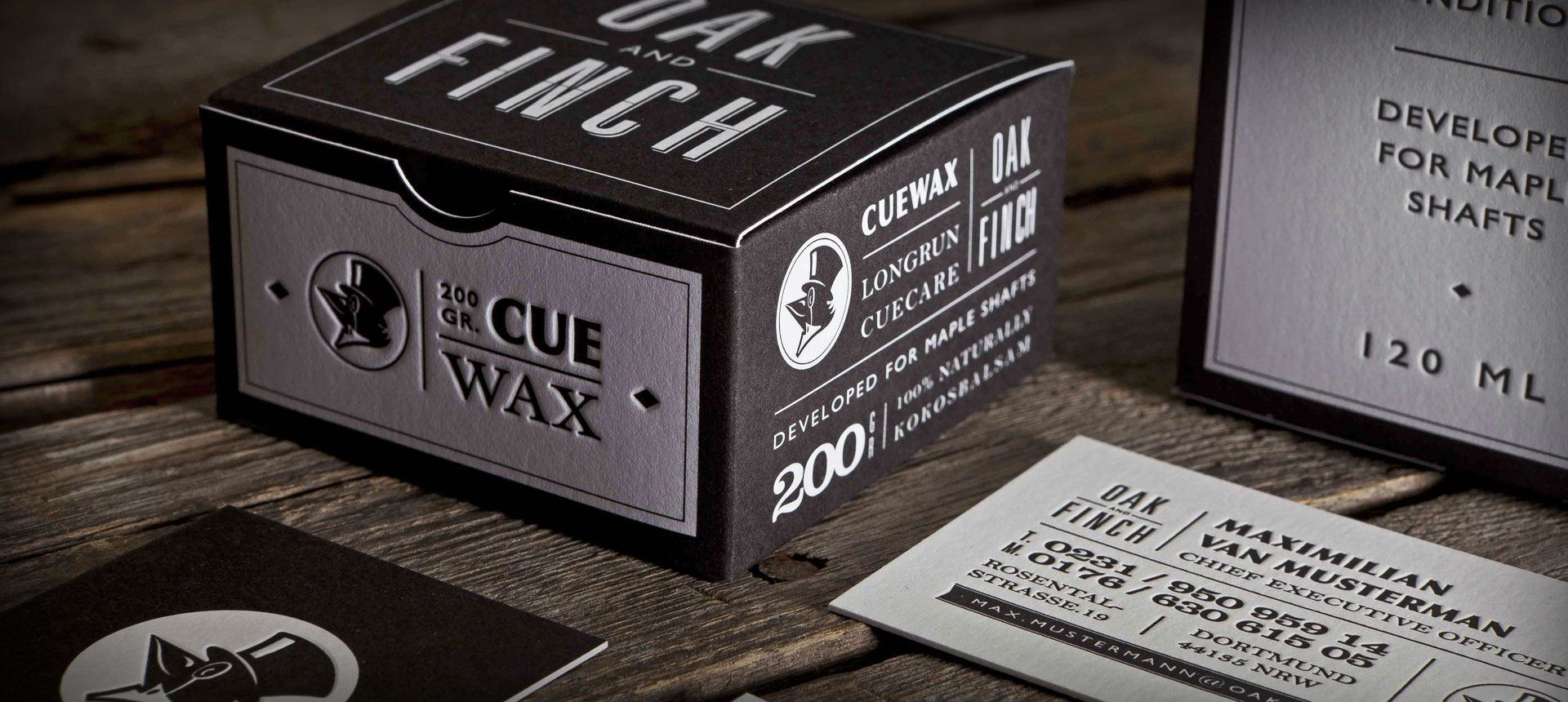 Letterpress: Packaging Oak 'n' Finch