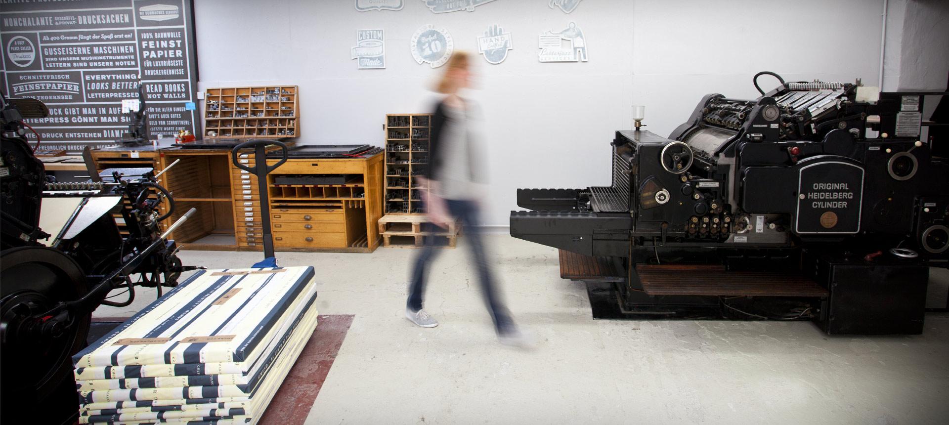 Letterpress: Studio