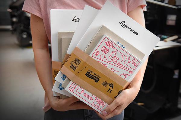 Letterpresso-Musterpack