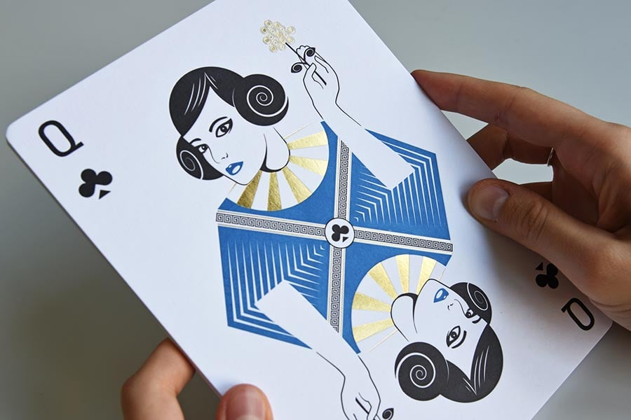 Neujahrskarte Pamela Jeger
