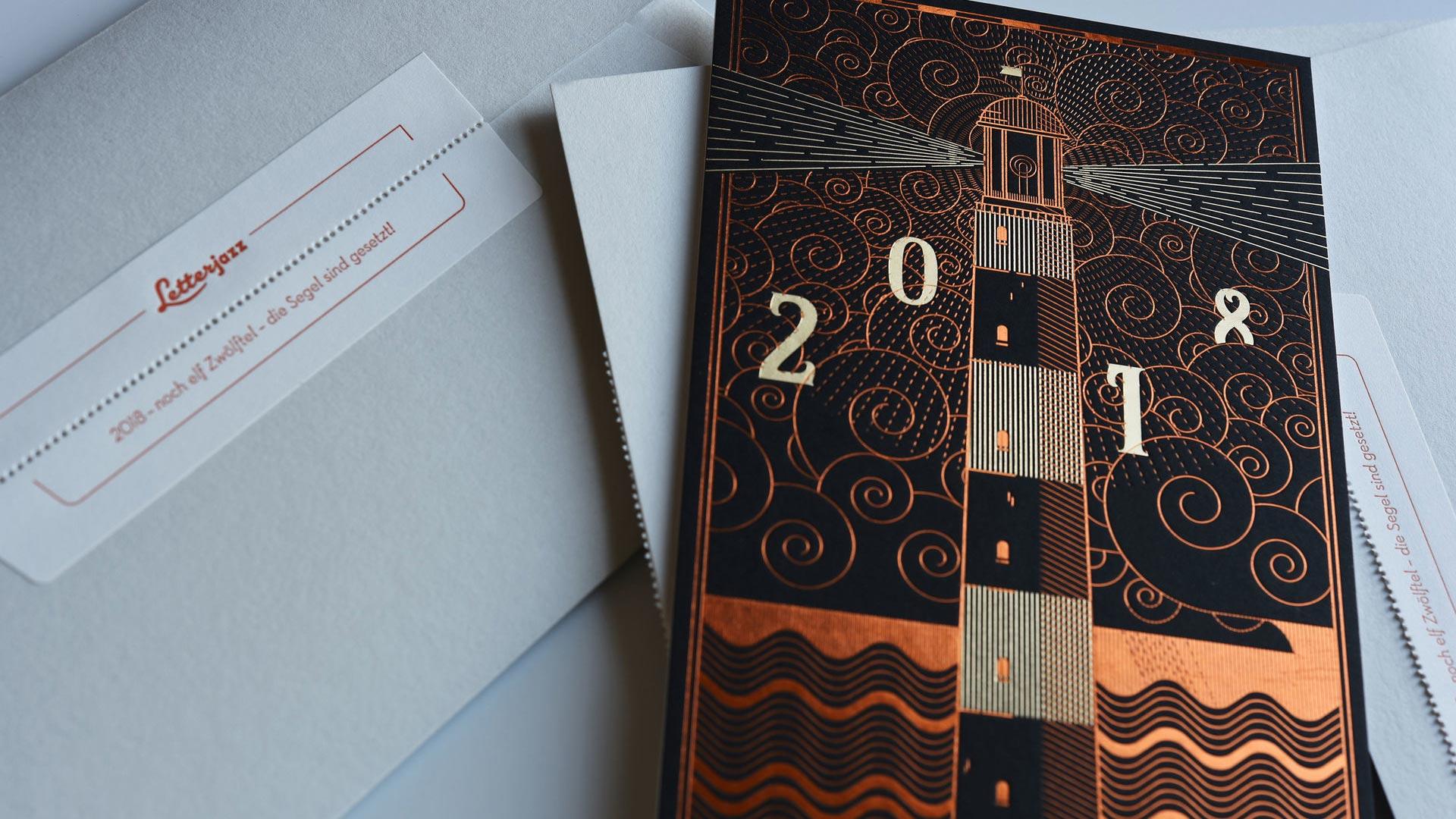 Letterjazz-Neujahrsgrüße