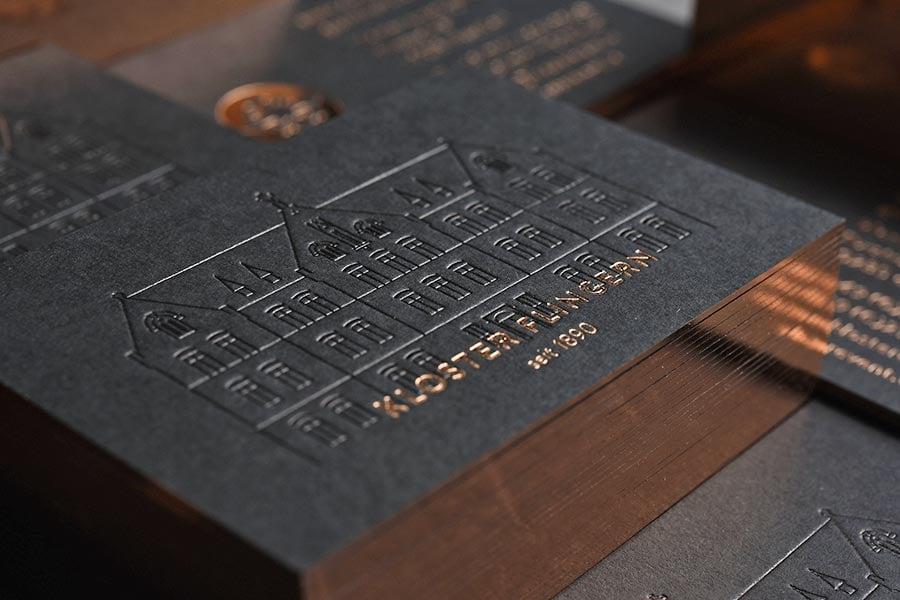 Visitenkarten Kloster Flingern