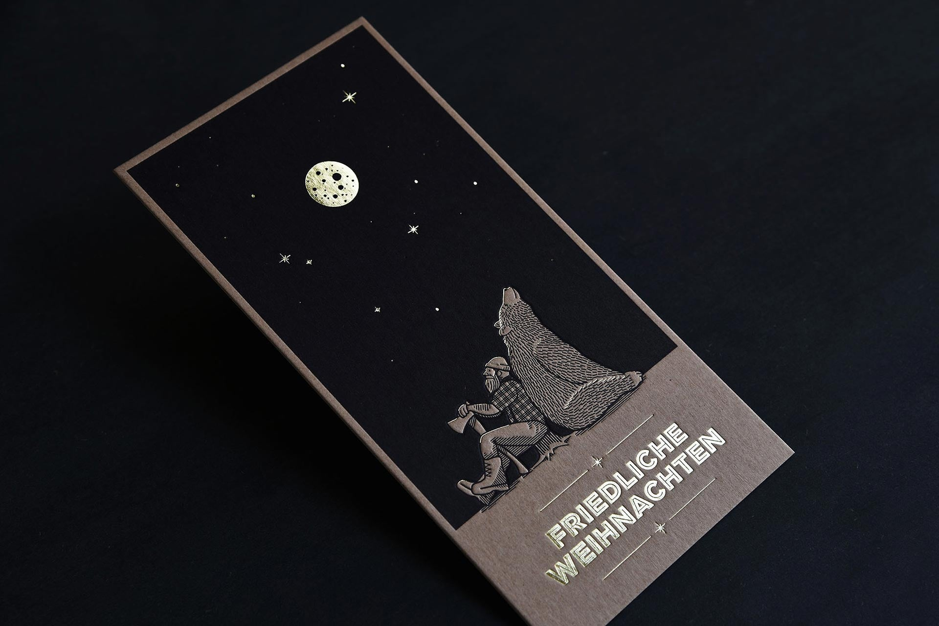 Weihnachtskarte Kroma Kraft