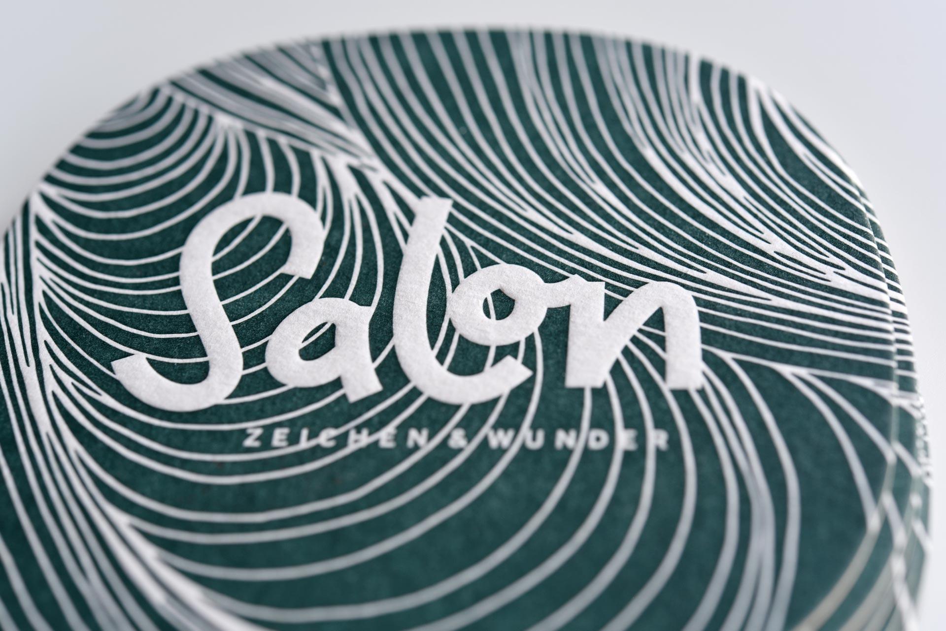 Zeichen und Wunder Salon-Karte