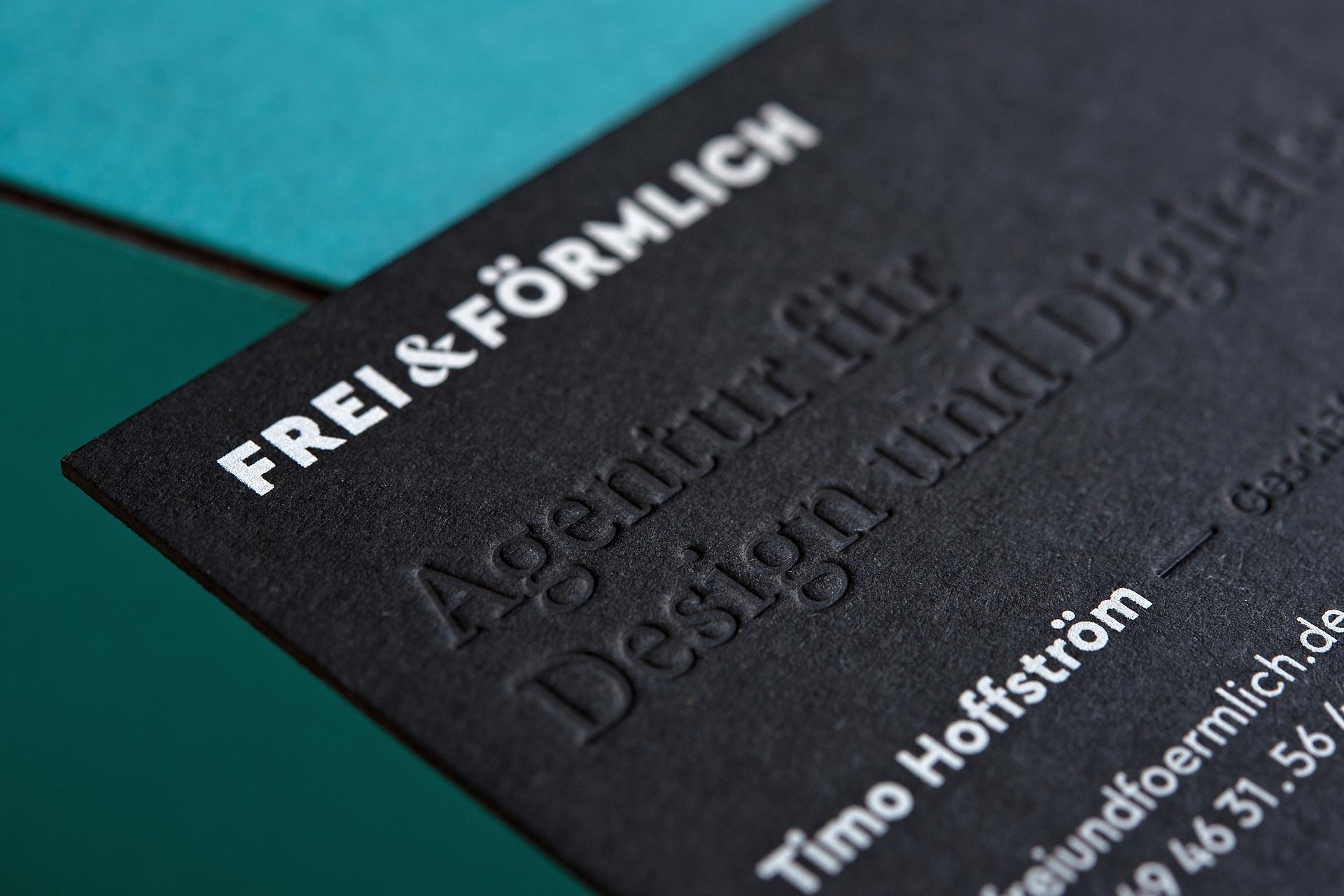 Visitenkarten Frei & Förmlich