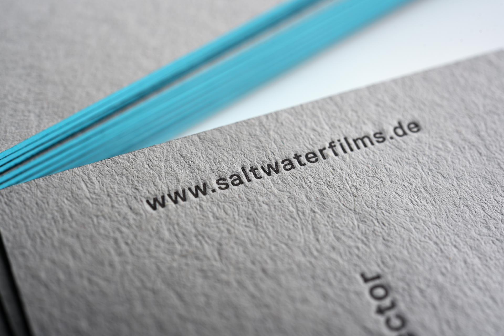 Visitenkarten Saltwater