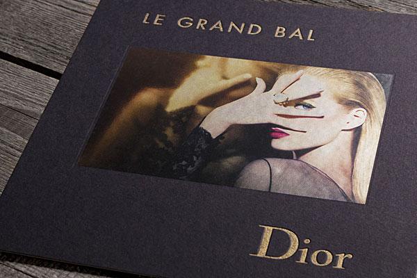 Le Grand Bal: Dior-Einladungskarte