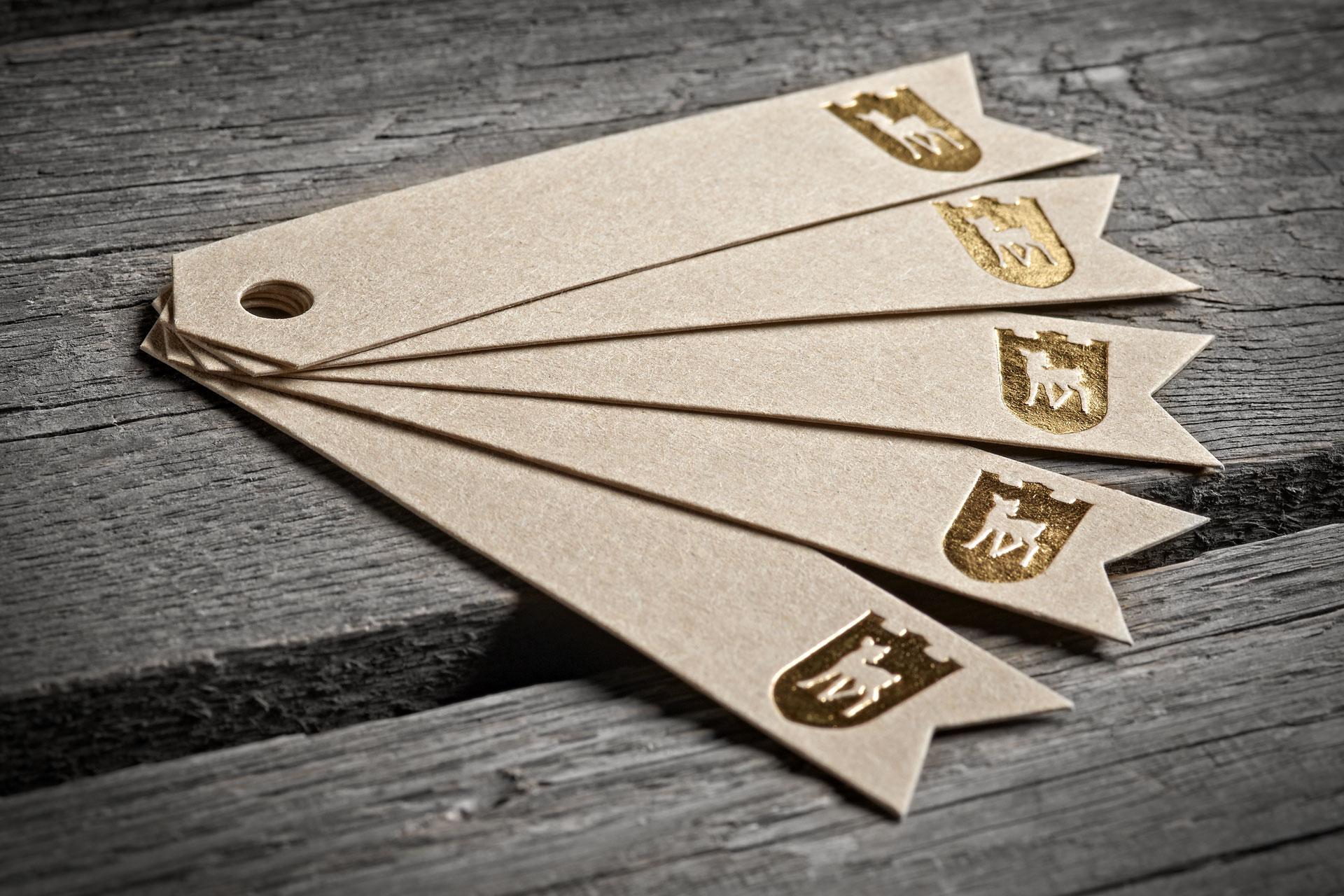 Visitenkarten und Hängetiketten Formatshop