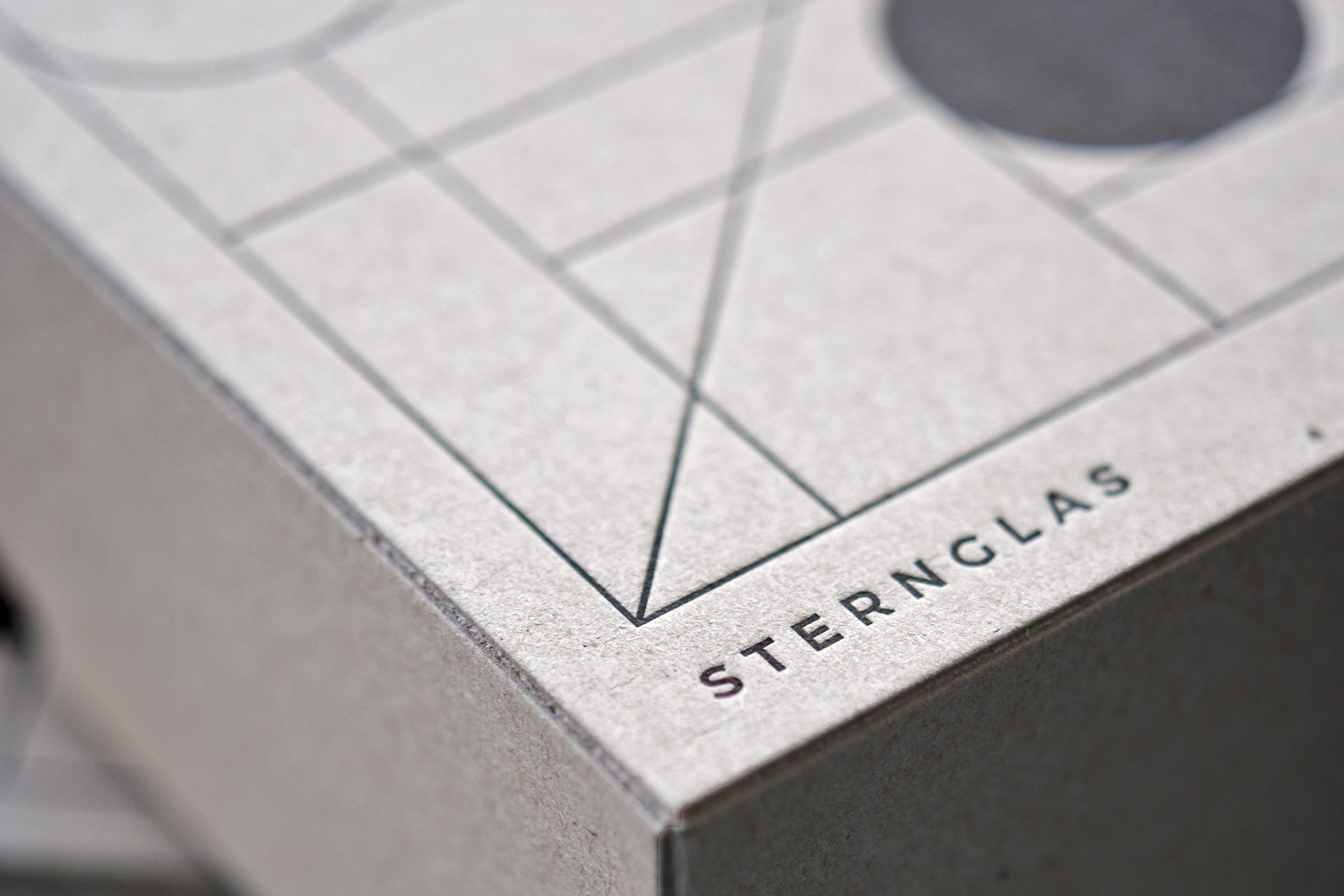 Schachteln Sternglas