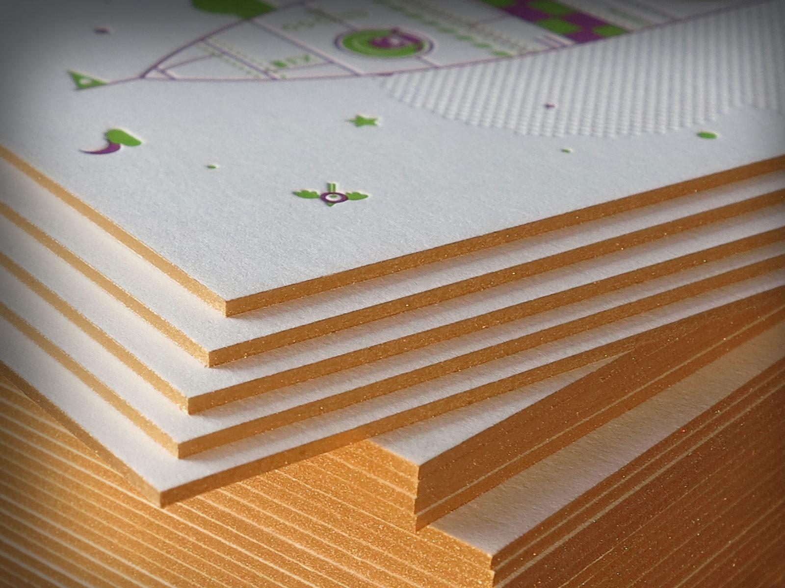 Neujahrskarte Letterjazz/ersteliga