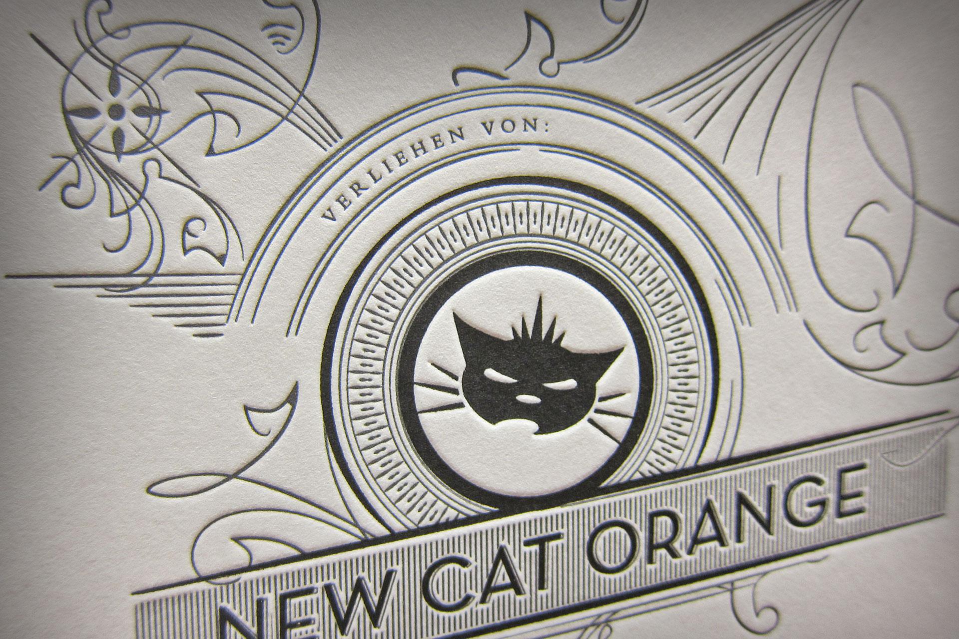 Urkunde New Cat