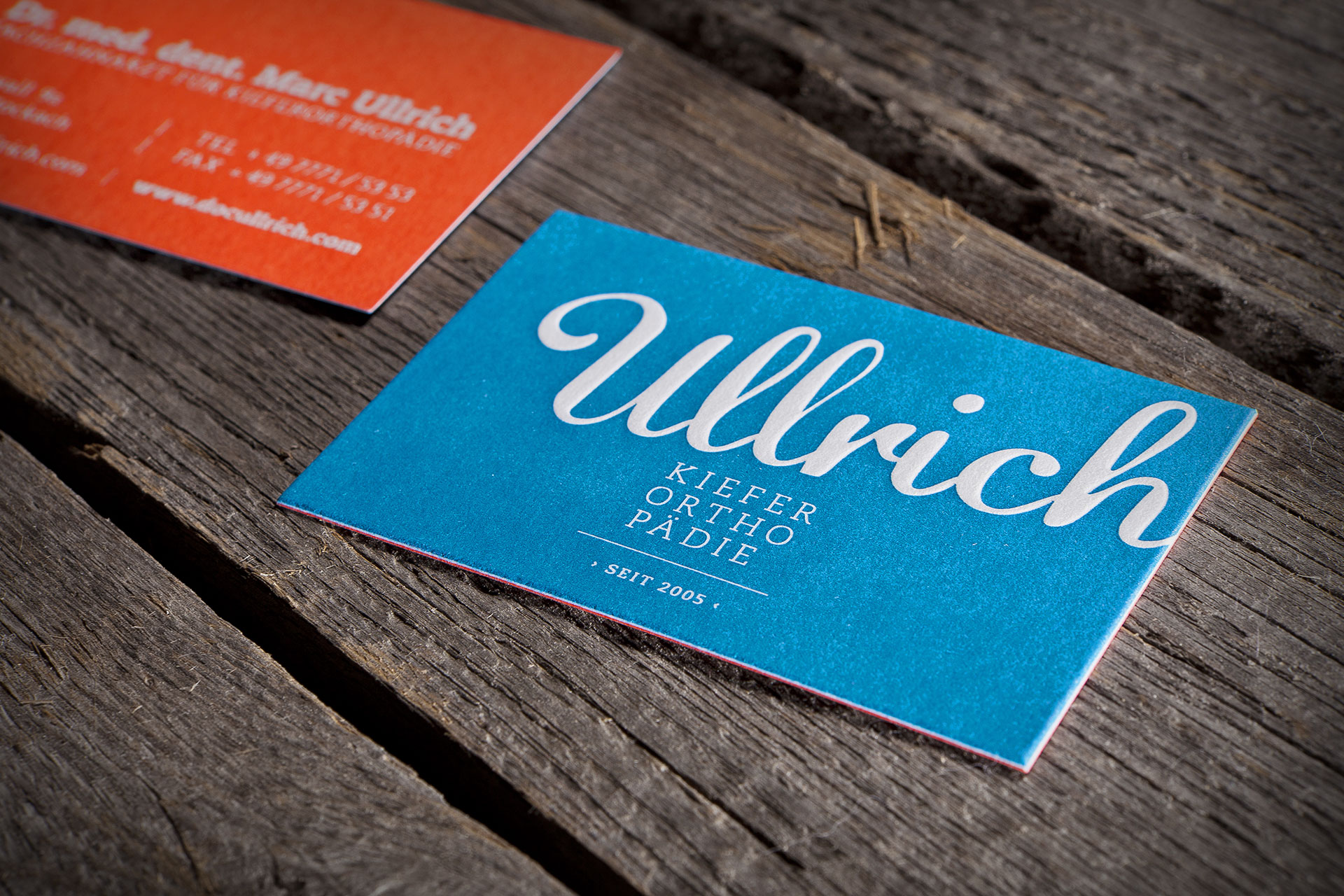 Visitenkarten Dr. Ullrich