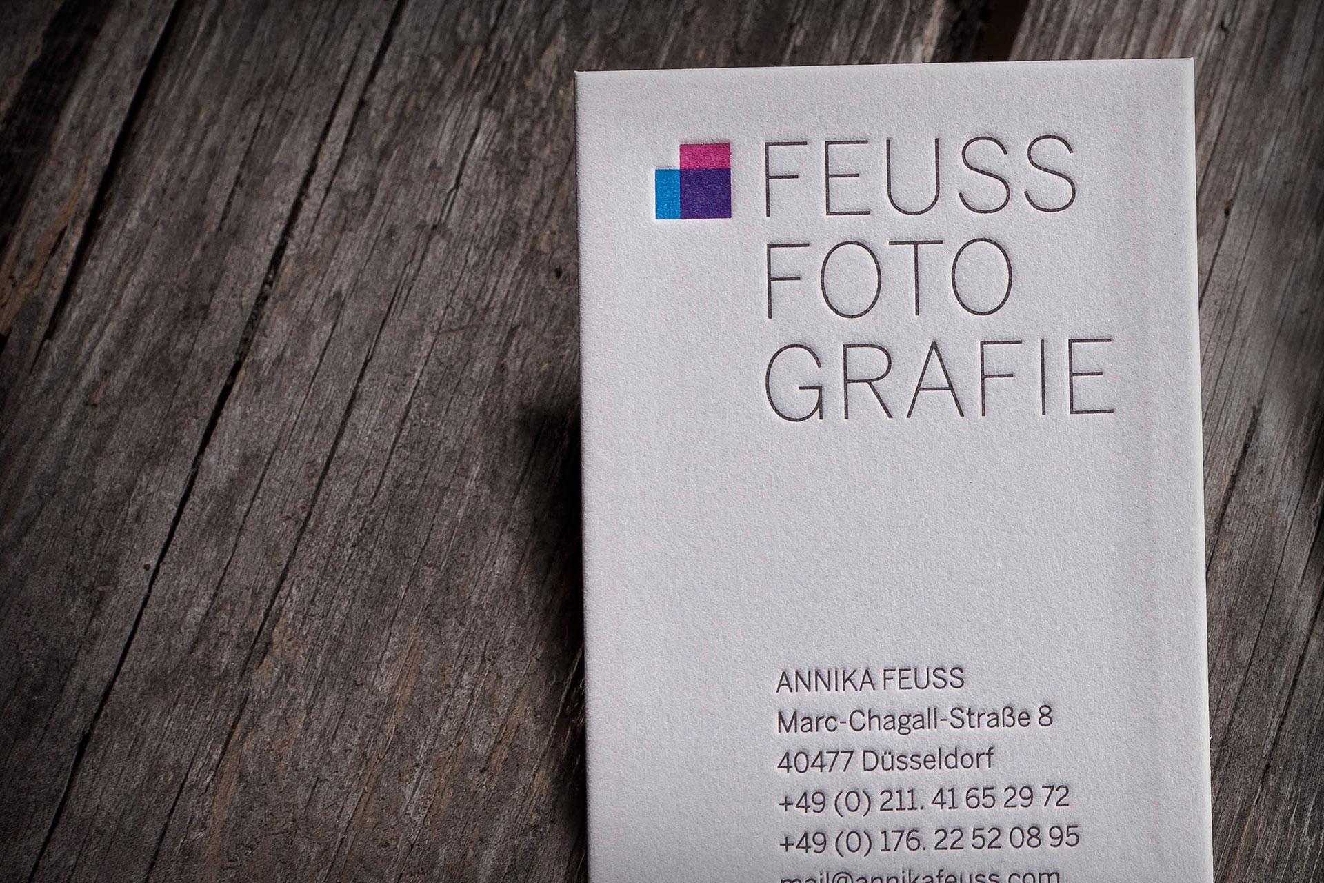 Visitenkarten Feuss