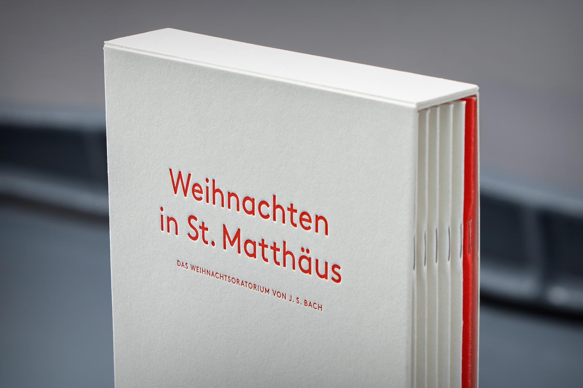 Schuber Weihnachten in St. Matthäus