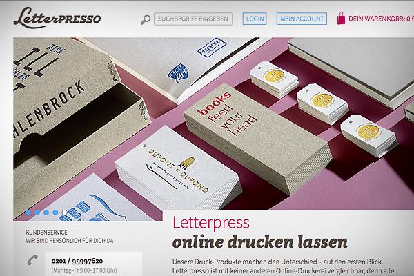Letterpress Printstudio Letterjazz