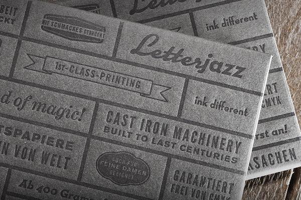Letterjazz-Musterpack